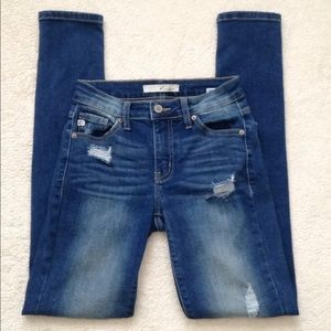 KanCan Skinny Distressed Jeans